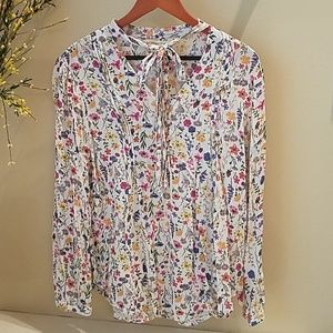 Faded Glory Girls Floral Blouse, NWOT